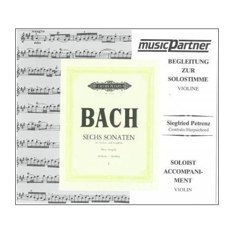Bach, J. S.: 6 Violinsonaten Band 1 (Nr. 1-3) BWV 1014 - 1016 Compact-Disc CD