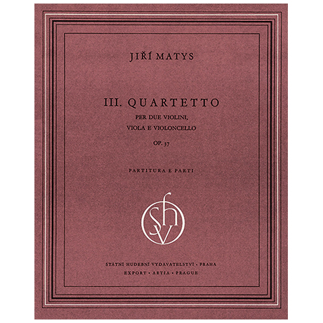 Matys, J.: Streichquartett Nr. 3