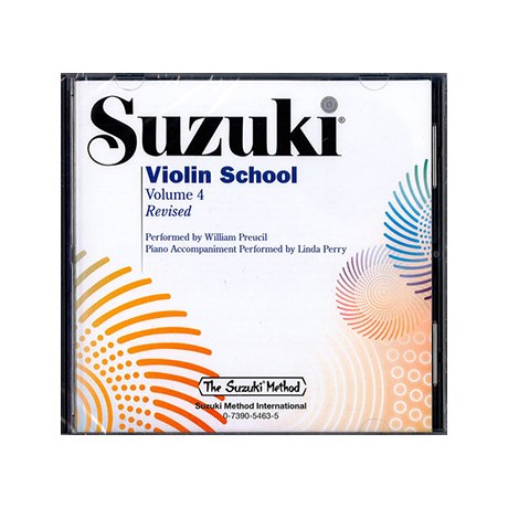 Suzuki Violin School Vol. 4 – CD