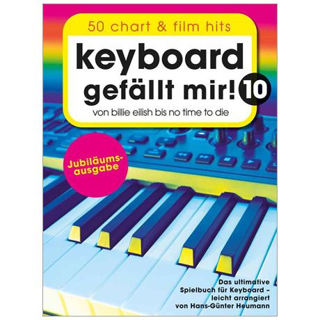 Keyboard gefällt mir! 10 - 50 Chart und Film Hits