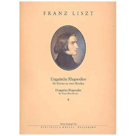 Liszt, F.: Ungarische Rhapsodien Band II: Nr. 8-13