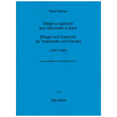 Reiner, K.: Elegie a Capriccio (1957/1960)