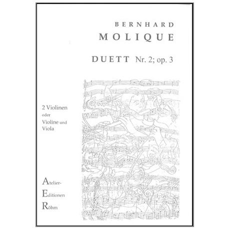 Molique, B.: Duett Nr. 2, Op. 3