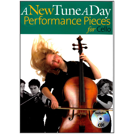 A New Tune a Day: Performance Pieces (+CD)