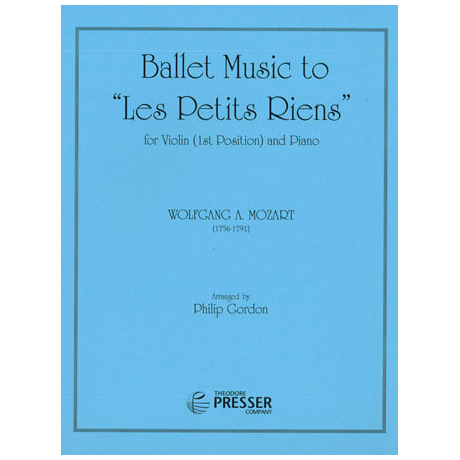 "Mozart, W. A.: Ballettmusik ""Les petits riens"" KV299b (Anh. 10)"