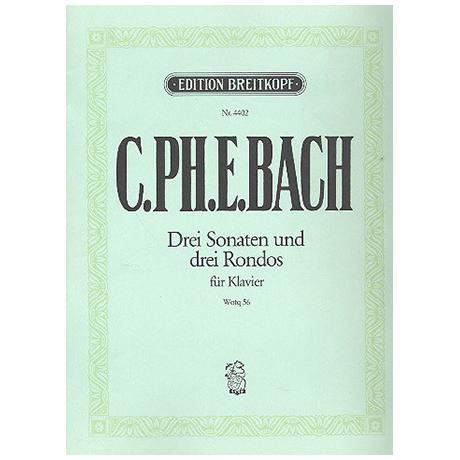 Bach, C.Ph.E.: Klaviersonaten nebst einigen Rondos Wq 56