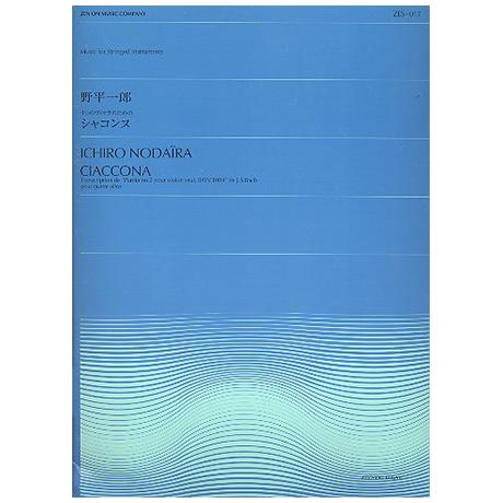 Bach, J. S.: Chaconne aus der Partita Nr. 2 BWV 1004