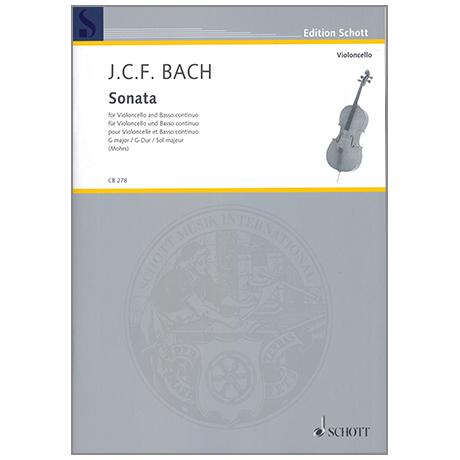 Bach, J. C. F.: Violoncellosonate G-Dur