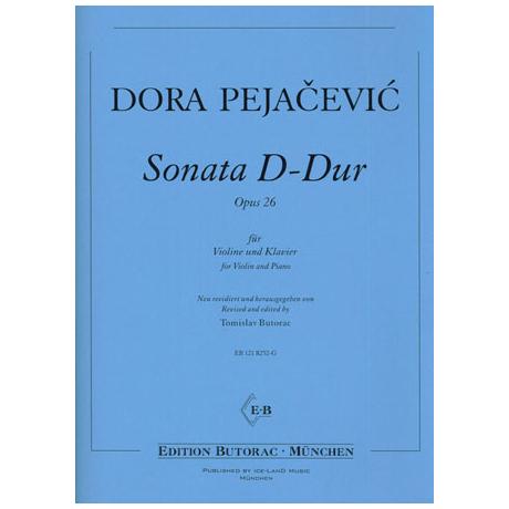 Pejacevic, D.: Violinsonate Op. 26 D-Dur