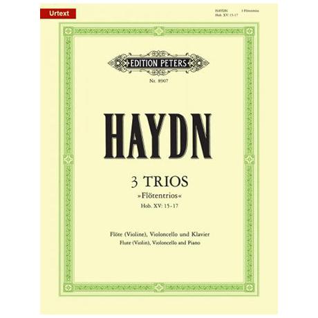 Haydn, J.: 3 Flötentrios G-, D-, F-Dur, Hob XV:15-17