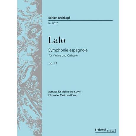Lalo, É.: Symphonie Espagnole Op. 21