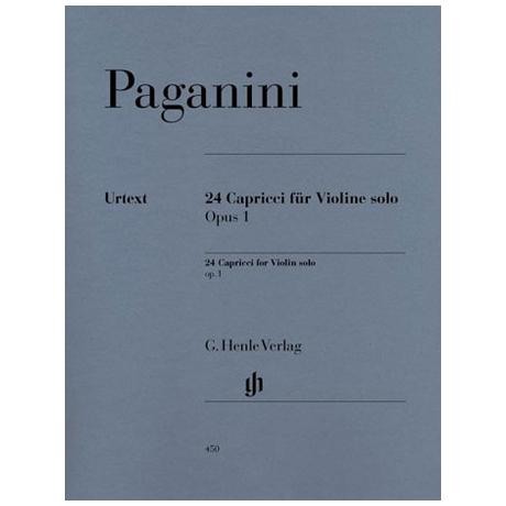 Paganini, N.: 24 Capricci Op. 1 Urtext