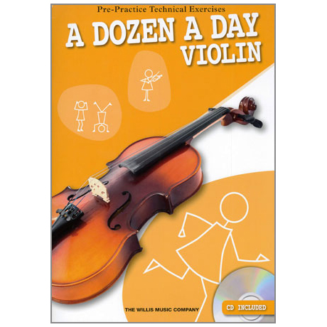 A dozen a day - Violin (+CD)