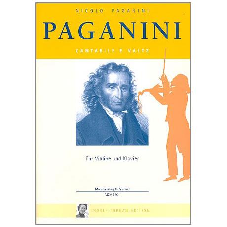 Paganini, N.: Cantabile é Valtz