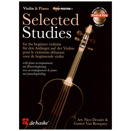Selected Studies for Violin Band 1 (+CD)