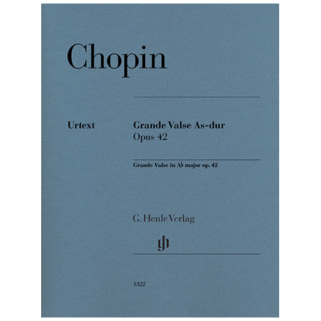 Chopin, F.: Grande Valse Op. 42 As-Dur