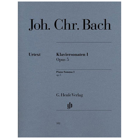 Bach, J. Chr.: Klaviersonaten I Op. 5