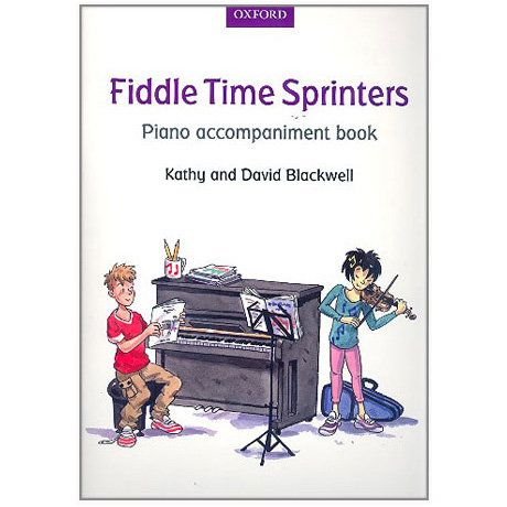 Blackwell, K. & D.: Fiddle Time Sprinters – Klavierbegleitung