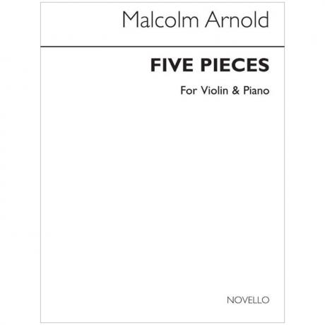 Arnold, M.: 5 Pieces Op. 84