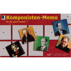 UE Komponisten-Memo für die ganze Familie