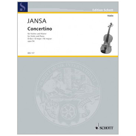 Jansa, L.: Concertino Op. 54 D-Dur