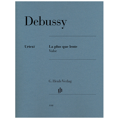 Debussy, C.: La plus que lente – Valse