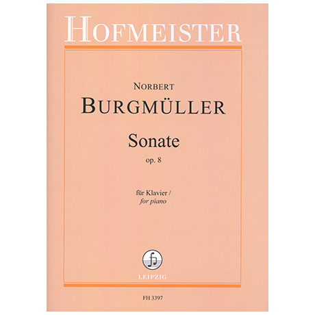 Burgmüller, N.: Sonate Op. 8