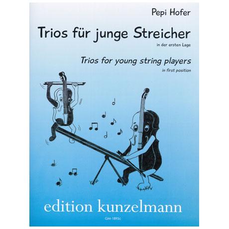 Hofer, P.: Trios für junge Streicher