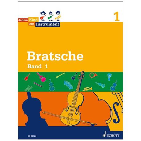 Jedem Kind ein Instrument - Bratsche Band 1