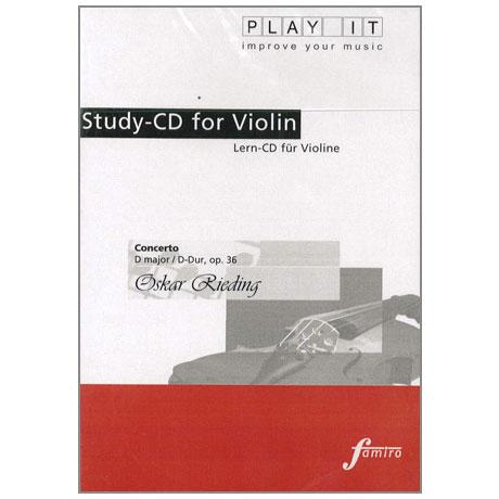 Rieding, O.: Concertino in D-Dur op. 36 Play-Along-CD (nur CD)