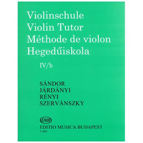 Sandor, F.: Violinschule Band 4 b