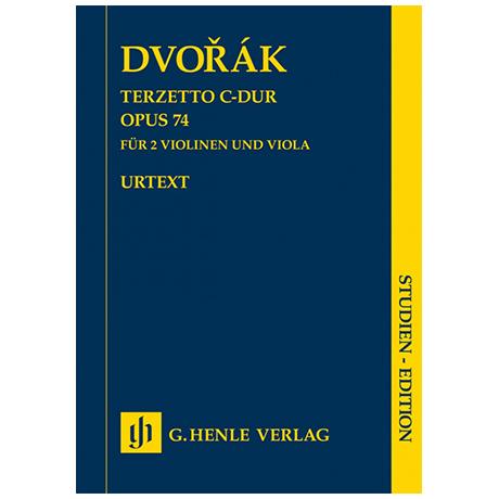 Dvořák, A.: Terzett C-Dur Op. 74