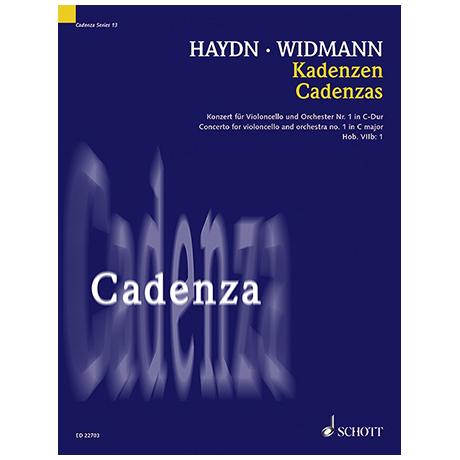 Haydn, J./Widmann, J.: Kadenzen zum Violoncellokonzert Nr. 1 Hob. VIIb:1 C-Dur