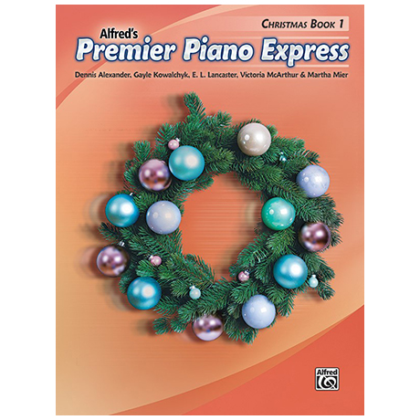 Alfred's Premier Piano Express – Christmas Book 1