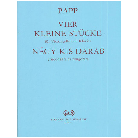 Papp, L.: Vier kleine Stücke