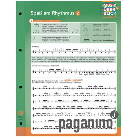 Musik im Überblick: Spaß am Rhythmus 2