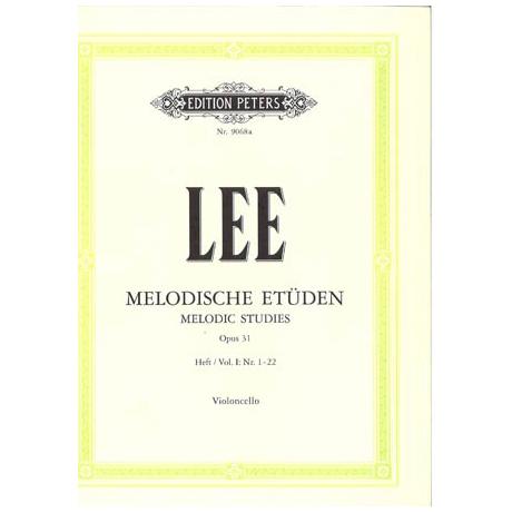 Lee: Melodische Etüden op. 31a