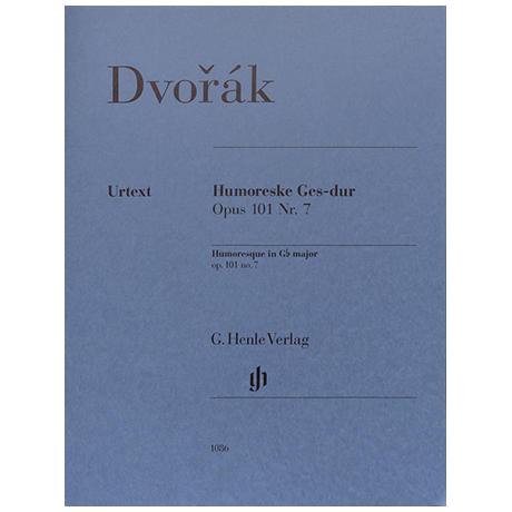 Dvořák, A.: Humoreske Ges-Dur Op. 101/7