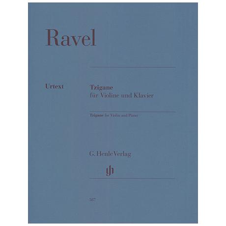 Ravel, M.: Tzigane – Rapsodie de Concert