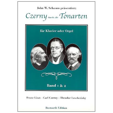 Schaum, J. W. – Czerny durch alle Tonarten