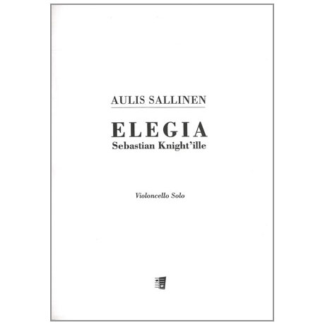 Sallinen, A.: Elegia für Sebastian Knight Op. 10