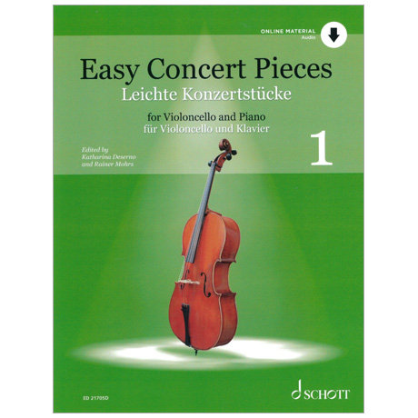 Deserno, K. / Mohrs, R.: Easy Concert Pieces Band 1 (+Online Audio)