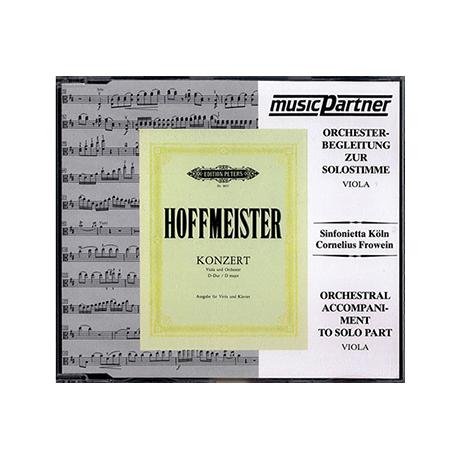 Hoffmeister: Violakonzert D-Dur Compact-Disc CD