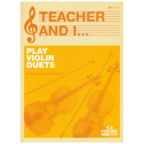 Teacher and I Play Violin Duets