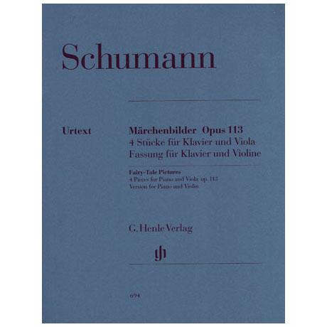 Schumann, R.: Märchenbilder Op. 113 Urtext