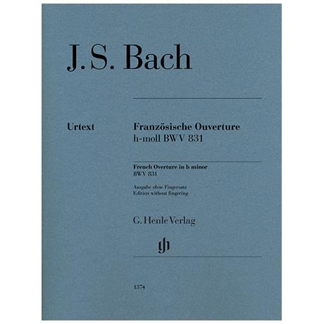 Bach, J. S.: Französische Ouverture BWV 831 h-Moll