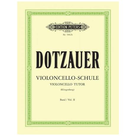Dotzauer, F.: Violoncelloschule Band 2