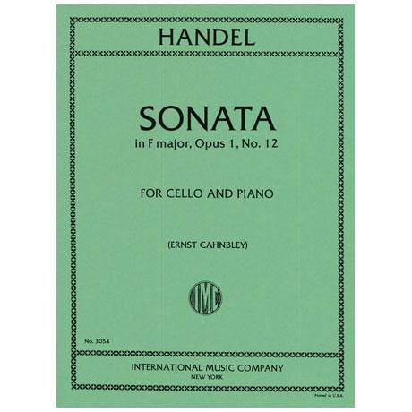 Händel, G.F.: Sonate in F-Dur