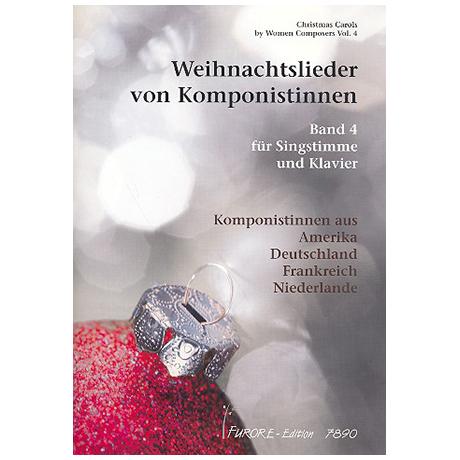 Weihnachtslieder von Komponistinnen Band 4
