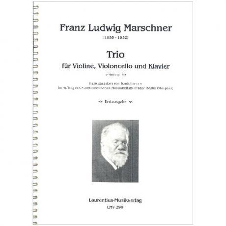 Marschner, F. L.: Klaviertrio Op. 30 c-Moll